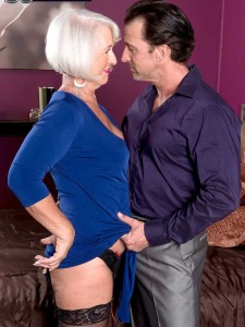 Sexy 60 Plus Milf Jeannie Lou Gets Ass Fucked