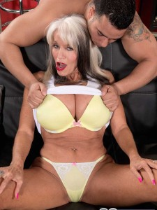 60 Plus Milf Sally D'Angelo Gets Her Butt Fucked