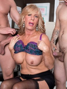 Over 60 Milf Phoenix Skye Gets Her Ass Packed With Dick