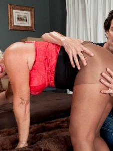 Two Dicks For Over Sixty Milf Jeannie Lou